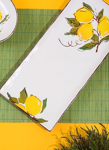 Lemon Büyük Sunum Tabağı-Morhipo Home
